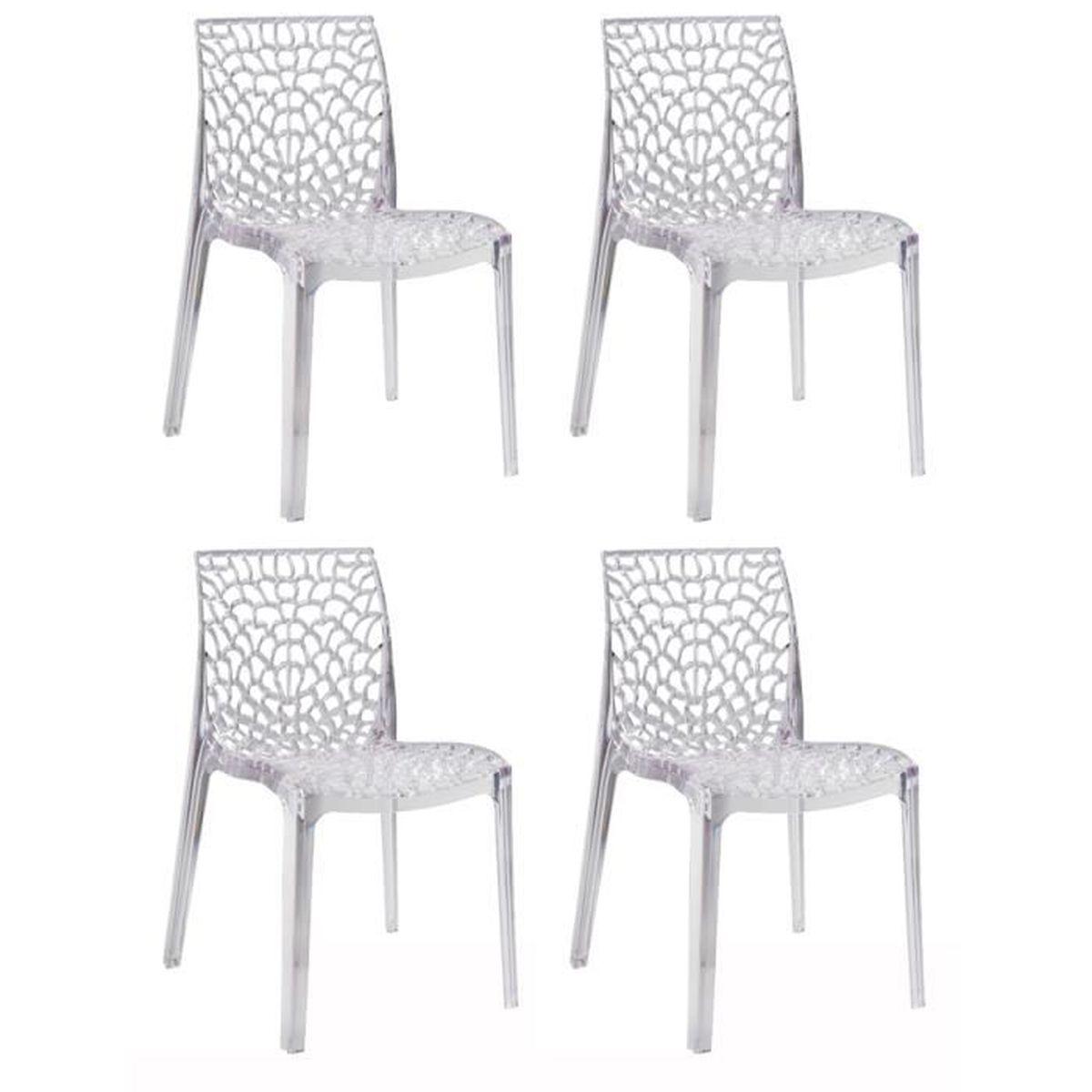 Chaise ajouree achat vente chaise ajouree pas cher for Soldes chaises transparentes