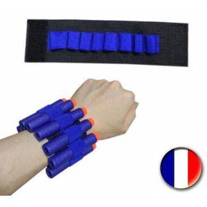 RECHARGE PISTOLET BILLE  Bracelet Porte Munitions Pour Nerf