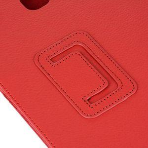 HOUSSE LISEUSE Pliage Stand étui en cuir couverture pour Samsung