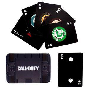 JEU SOCIÉTÉ - PLATEAU Cartes à jouer Call of Duty: Logo Perk-A-Cola