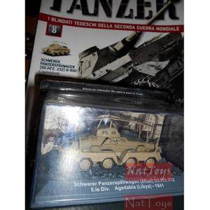 VOITURE - CAMION Schwerer Panzerspahwagen 8Rad Libya 1941 Tank Panz