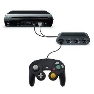 ADAPTATEUR MANETTE EXLENE GameCube Contrôleurs Convertisseur Pour Nin