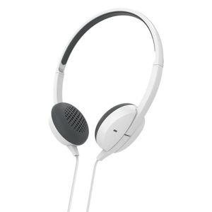 CASQUE - ÉCOUTEURS Micro-casque stéréo supra-aural Advance, blanc