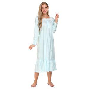 PYJAMA Pyjamas femme à manches longues victorienne Patchw