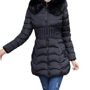 Manteau femme fourrure - Achat   Vente pas cher - Soldes  dès le 9 ... 96b2abb96cc0