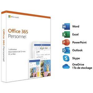 BUREAUTIQUE Microsoft Office 365 Personnel - 1 utilisateur - P