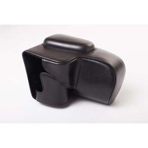 SAC PHOTO vhbw polyuréthane photo sacoche noir pour caméra C