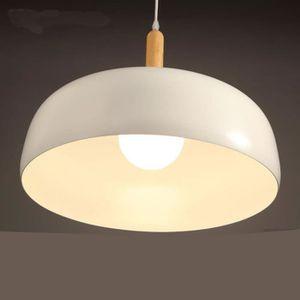 LUSTRE ET SUSPENSION Lustre Moderne d'aluminium Rétro - lampe en Bois M