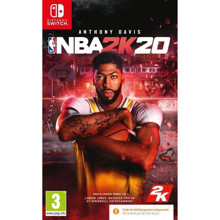 NBA 2K20 Jeu Nintendo Switch - Code in a box