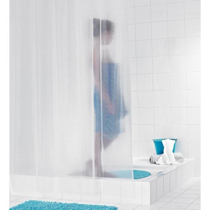 Ridder rideaux de douche en plastique for Rideaux de douche