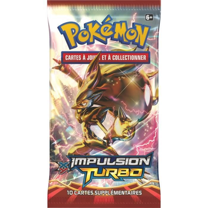 Pokemon Booster Xy 08 Quot Impulsion Turbo Quot Achat Vente Carte A Collectionner Cdiscount
