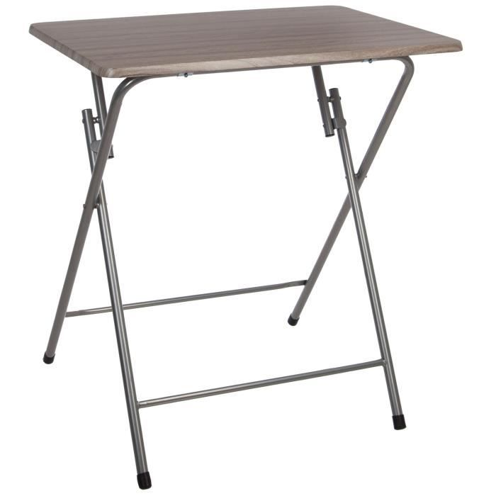 TABLE DE JARDIN  Table d'appoint pliante - Grand modèle