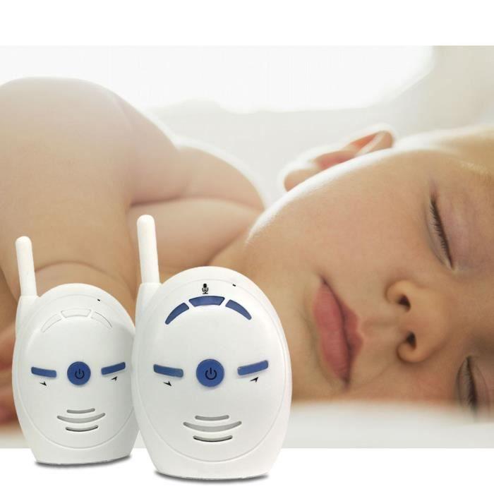 ÉCOUTE BÉBÉ Moniteur de bébé sans fil Talk Talkie-walkie audio