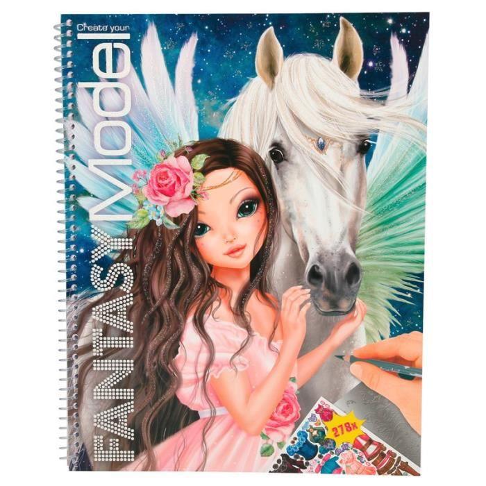 Album de coloriage fantasy model achat vente album de for Model pas cher