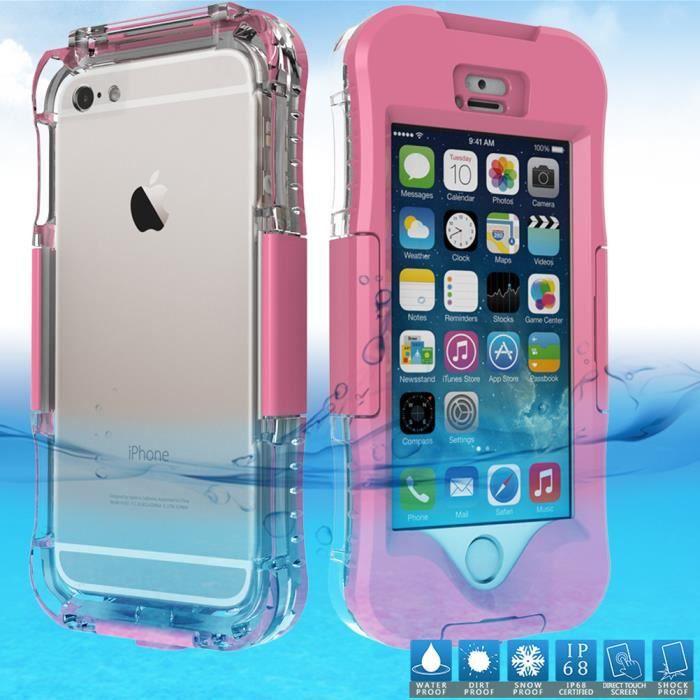 coque iphone 6 sous l'eau