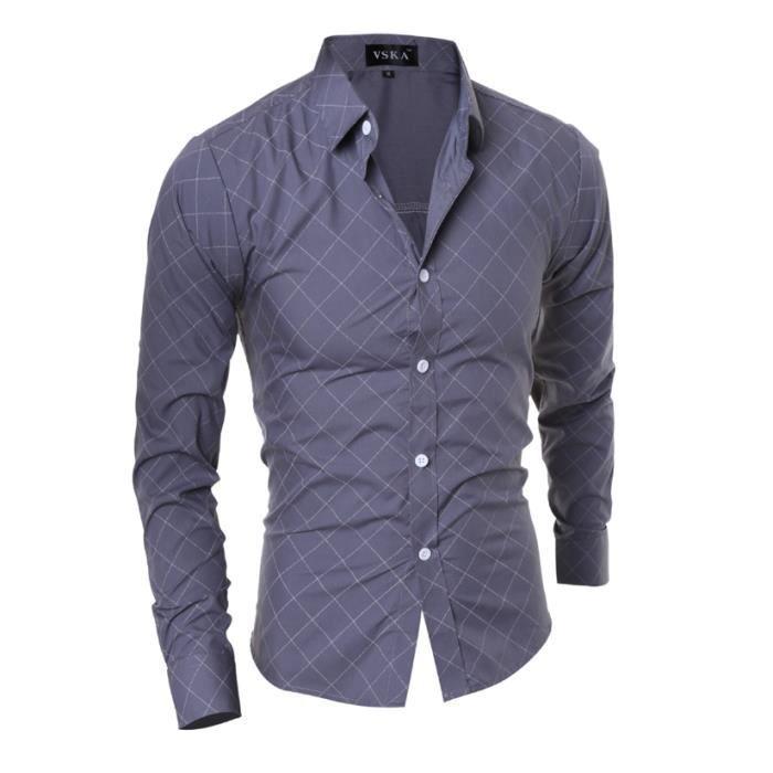 chemise manche nouvelle longue ajustée homme Coupe collection 2016 EzwYqaq