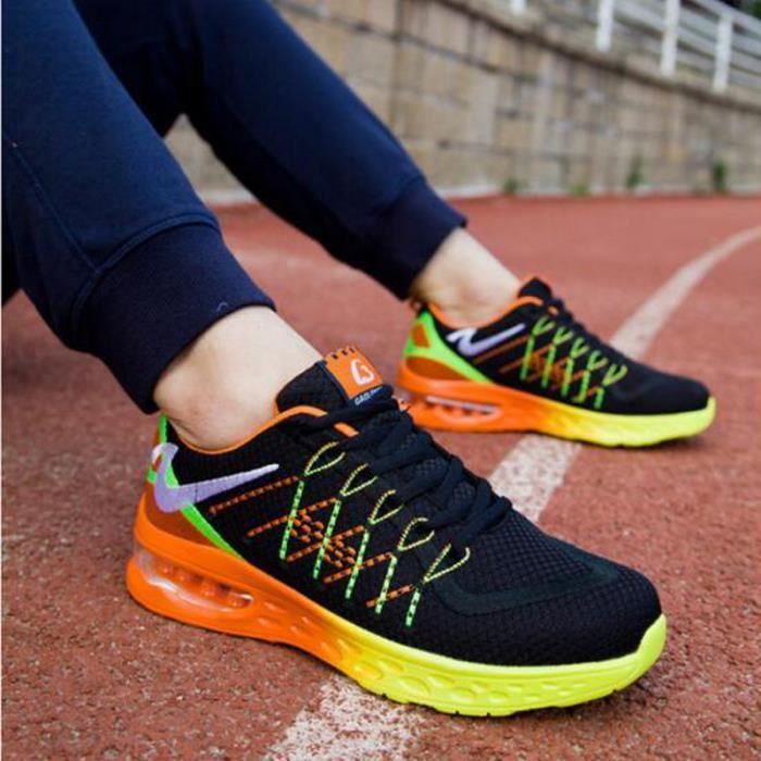 KIANII® Baskets Homme Chaussures de Sport Respirant chaussures de tennis à coussin d'air 7YLEV6wr5K