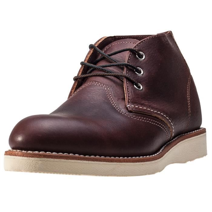 Red Wing 3141 Classic Hommes Bottes chukka Dark Brown - 9 UK