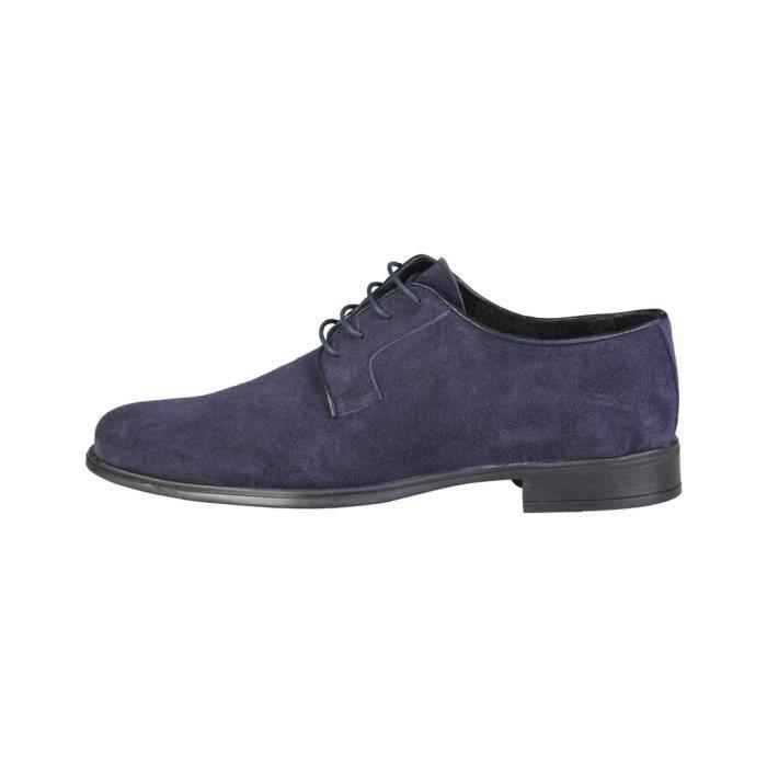 Pierre Cardin - Chaussures de ville pour homme (ALBERIC_BLEU) - Bleu