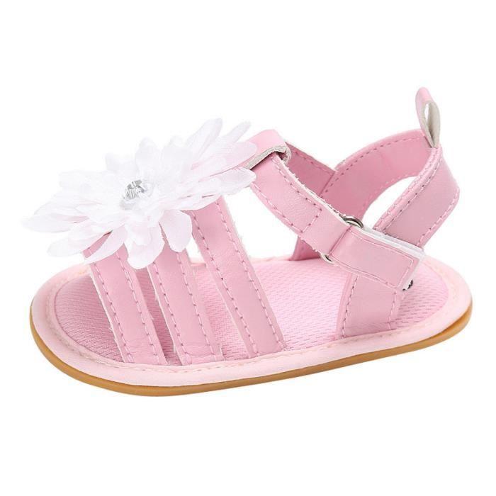 Chaussures slip Girl Sneaker Nouveau Bébé Doux Crib Anti Semelle BlancHM BOTTE nbsp;Toddler Summer Fleur Né xPqRwPXTn