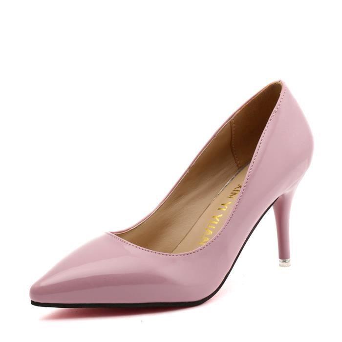 Chaussures Enfiler Haut A Talon Escarpins En Femme Velvet Aiguille nm0wvN8