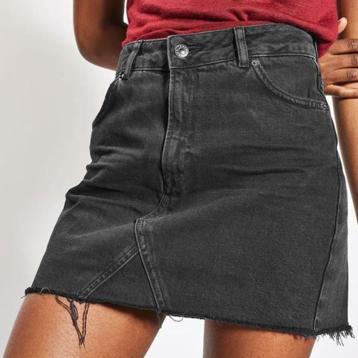 dfbd122313 Jupe jean femme - Achat / Vente pas cher