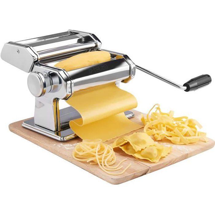 MACHINE À PÂTES Machine à pâte manuel - 3 types de pâtes - 9 taill