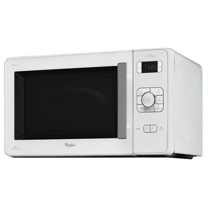 WHIRLPOOL JC213WH Four à micro-ondes Gril, 3 fonctions, 1000W, 30L ...