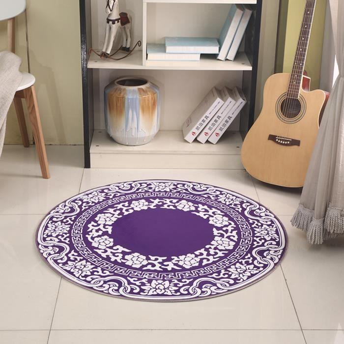 Tapis de salon tapis rond 100cm tapis enfant adulte 3D décoration ...