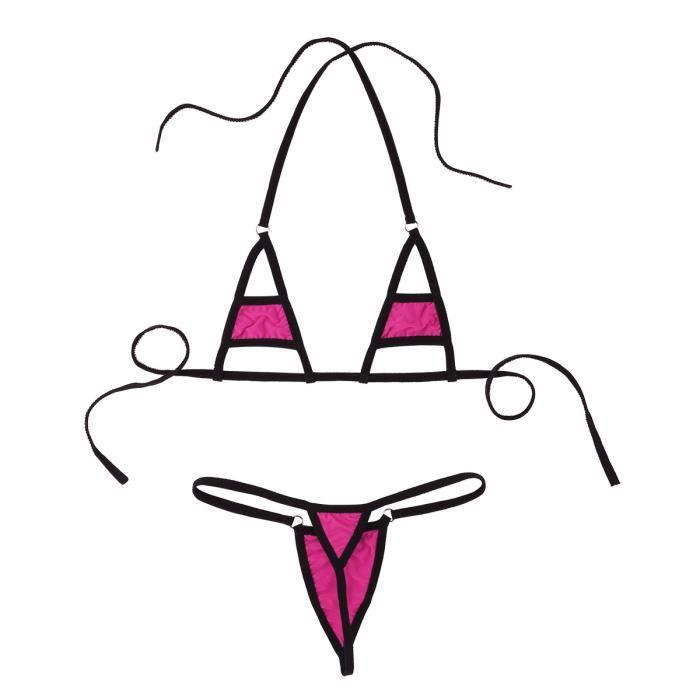 De Lingerie Plage Ensemble Soutien Bikini Vêtements Tanga Bain gorge Slip Pieces String Maillot 2 Femme Et Sexy dqnvqCB