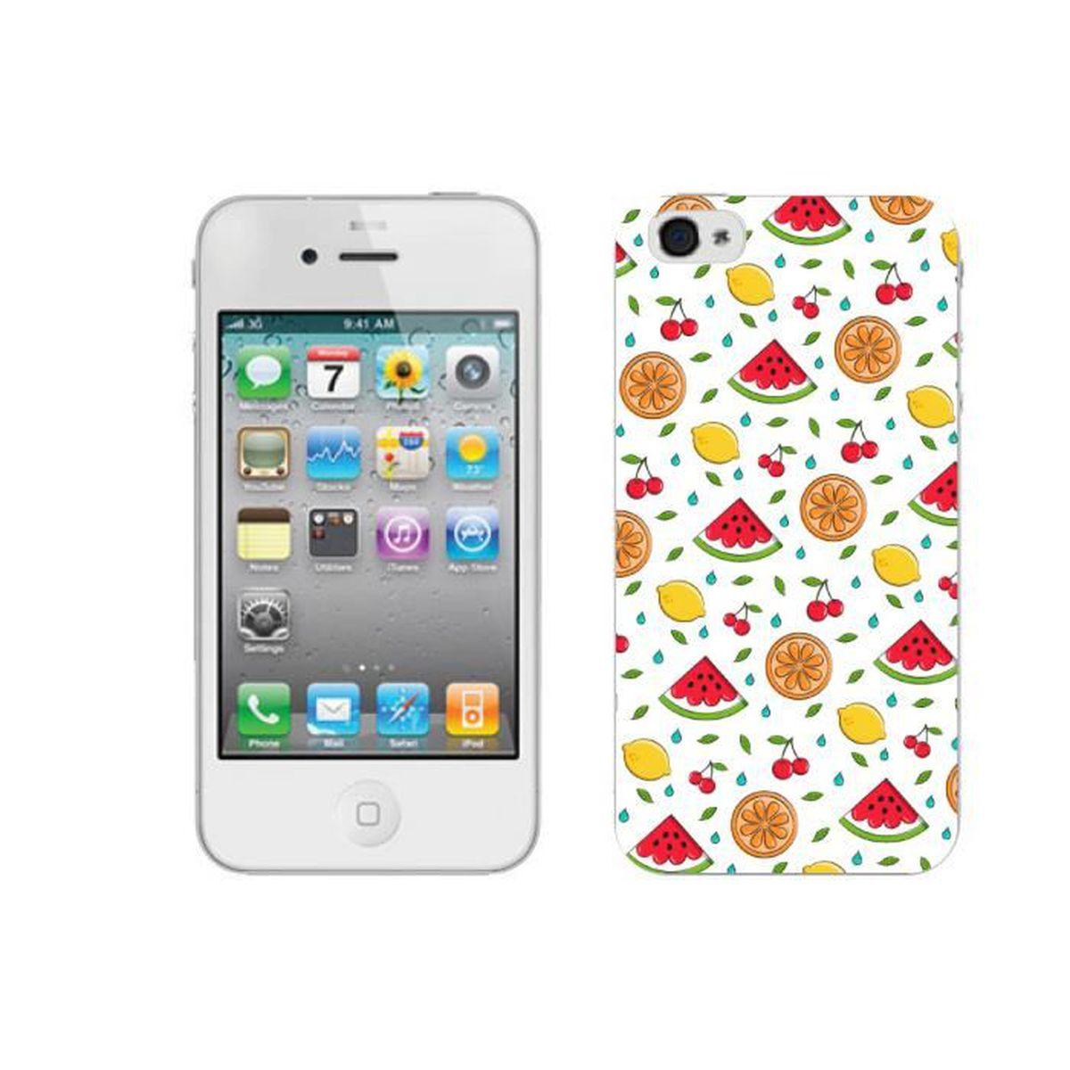 coque iphone 4 pasteque