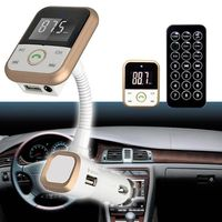TRANSMETTEUR FM Gosear® transmetteur FM voiture Bluetooth 4.0 MP3