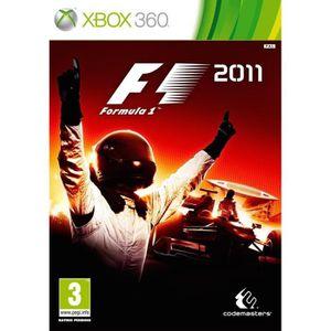 JEUX XBOX 360 F1 2011 / Jeu console X360