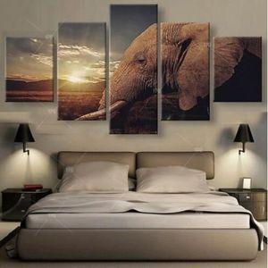 Tableaux Peinture Sur Toile Elephant Achat Vente Pas Cher