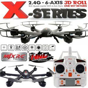 DRONE MJX X600 Noir sans Caméra - Drone Radiocommandé co