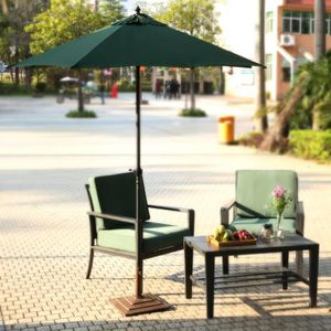 PARASOL parasol Pliage acier pôle extérieur pour jardin pl
