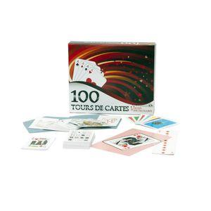 JEU SOCIÉTÉ - PLATEAU FERRIOT CRIC  Coffret 100 Tours De Cartes