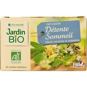 INFUSION JARDIN BIO Infusion Détente et sommeil - Bio