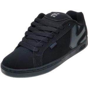 SKATESHOES Chaussures skateboard Fader black dirty wash