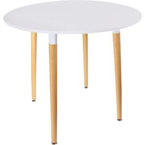 Table ronde blanche achat vente table ronde blanche for Table ronde blanche pas cher