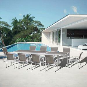 Salon de jardin aluminium 10 place(s) - Achat / Vente Salon de ...