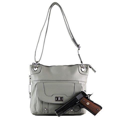 Gun Concealed carry sac à main - Twist verrouillage de poche Sac bandoulière par MWK95