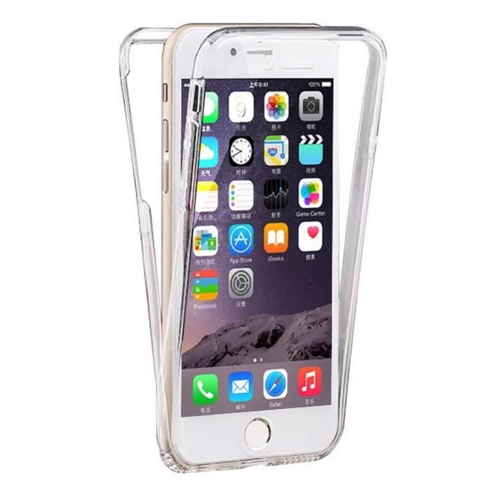 coque iphone 6 silicone avant arriere