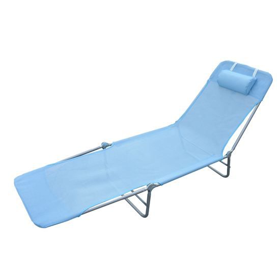 CHAISE LONGUE Chaise Longue Pliante Bain De Soleil Inclinable Tr