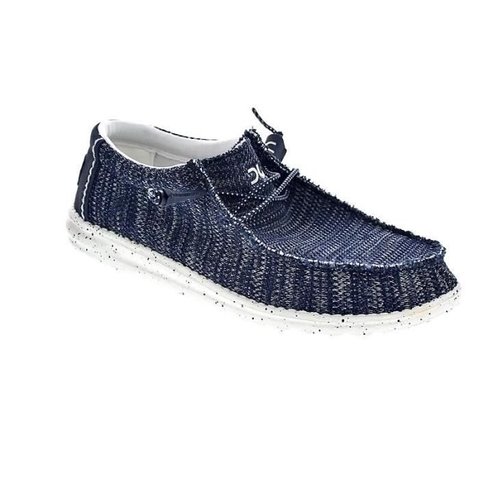 Chaussures Dude HommeMocassins modèle Wally Sox Jeans