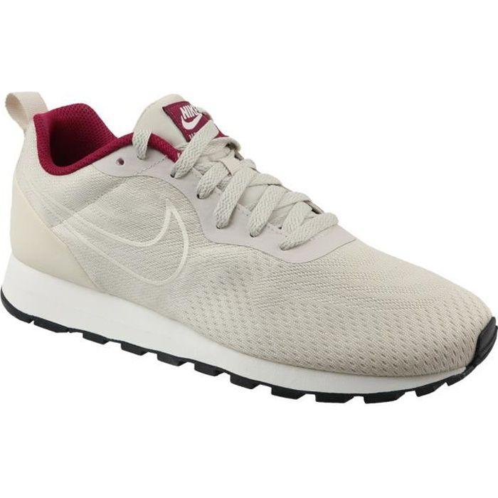 Nike WMNS  MD RUNNER 2 ENG 916797 Beige - Chaussures Baskets basses Femme