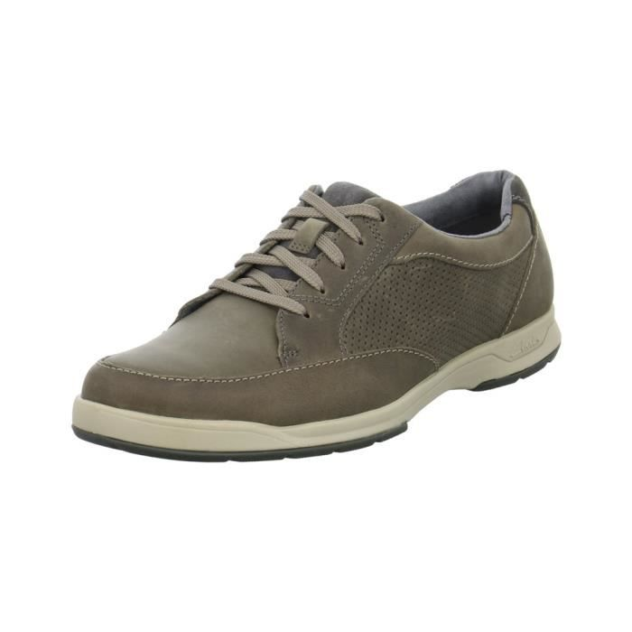 Gris Chaussures Achat Park5 Clarks Basket Vente Stafford xwtzqF