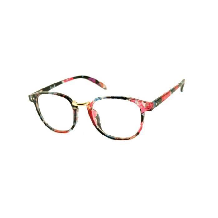 263ae77a7b5bff Lunettes sans correction Ronde Flowers - Achat   Vente lunettes de .
