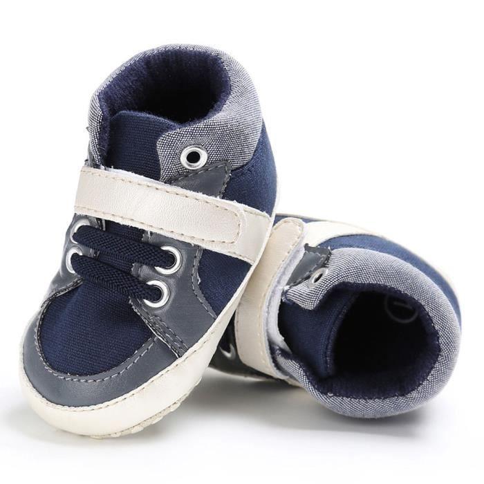 BOTTE Chaussures bébé garçon fille nouveau-né crèche chaussures à semelle souple@Jeunesse tibétaine BuOIAZnSx