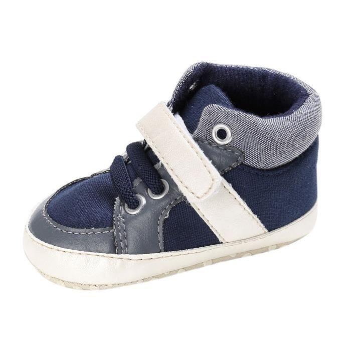 BOTTE Chaussures de bébé garçon fille nouveau-né cuir crèche chaussures à semelle souple@Jeunesse tibétaine atp4EpRo